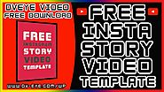 Instagram Story Video Template Animated Free Download