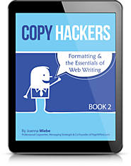 Copy Hackers Newsletter - Marketing Goodness in Your Inbox