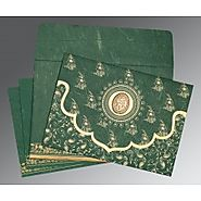 Muslim Wedding Cards: | Card Code: I-8207L |
