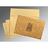 Islamic Wedding Cards: | Card Code : (I-1434) |