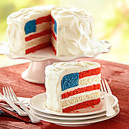 American Flag Cake | Land O'Lakes