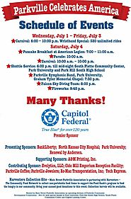 Parkville July 4th Celebration 2015 in Historic Downtown Parkville, Missouri - 3rd and 4th of July