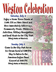 Weston, Missouri Celebration - 4th and 5th of July