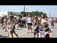 Community Days Parade in Old Town Lenexa, Kansas - 4th of July