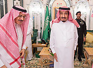 Custodian of the Two Holy Mosques receives his brother and sons