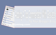 Adding A Top Commentator With Gravatar To Your Blogger Blog | Onenaija Blog