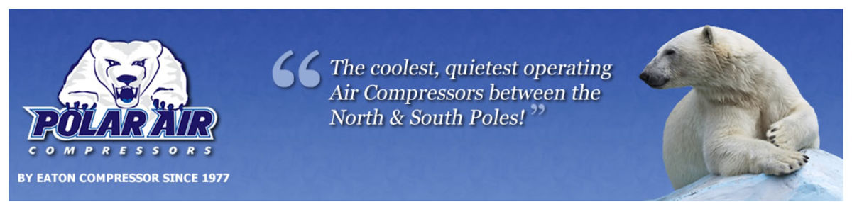 Headline for Gas Drive Polar Air Compressors Made in USA