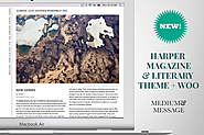 HARPER MAGAZINE & LITERARY WORDPRESS