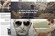 Blink - A WordPress blogging theme