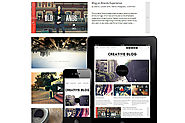Creative Blog WordPress Responsive