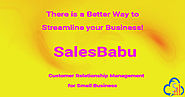 SalesBabu CRM- CRM for Small Business