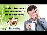 Herbal Treatment For Insomnia Or Sleep Disorders