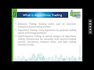 Webinar Topic: Introduction to Algorithmic Trading - QuantInsti