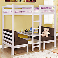 Full Size Loft Beds Great Selection for Kids & Adults Bedroom
