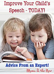 Get expert advice regarding your child's speech.