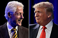 [8/5/15] Donald Trump talked politics with Bill Clinton weeks before launching 2016 bid