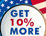 Independence Day Offer - Patriotic Fourth Celebration with 10% Extra from eSalesData