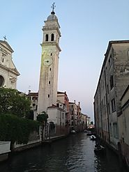 There are about 170 bell towers in Venice.