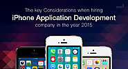 How to Hire iPhone Application Development Compnay