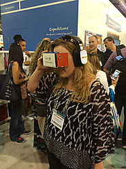 Monday at ISTE 2015: Google's Cardboard, what works in 1:1, and fed talks