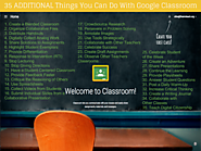 35 More Things You Can Do With Google Classroom
