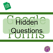 Google Forms: Hidden Feedback Questions