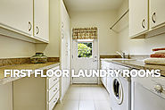 First Floor Laundry Rooms: