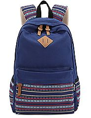 Leaper Causal Style Lightweight Canvas Cute Backpacks School Backpack
