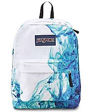 JanSport Superbreak Backpack - Multi/Blue Drip Dye