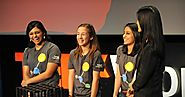 Award-winning teenage science in action - Lauren Hodge, Shree Bose and Naomi Shah