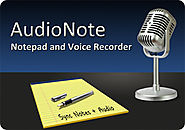 the AudioNote - Notepad and Voice Recorder
