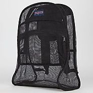 Jansport Mesh Back Pack LARGE Color Black - Backpacks n BagsBackpacks n Bags