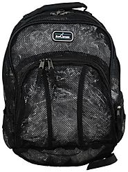 Suncatcher 4270 Mesh Backpack - Great for Water Sports -Black - Backpacks n BagsBackpacks n Bags
