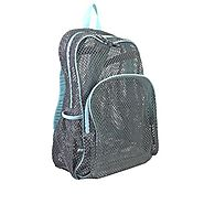 Eastsport Mesh Backpack, Mint Blue - Backpacks n BagsBackpacks n Bags