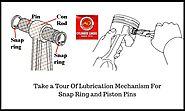 Take a Tour Of Lubrication Mechanism For Snap Ring and Piston Pins