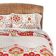 Get the bed ready for Date Night with a new bedding set from Target