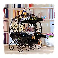 Cool Metal Wine Racks