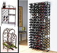 Cool Metal Wine Racks for Parties