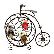 Bicycle Wine Rack - 19-inch Metal Wine Rack - Kitchen Things