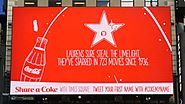 Send a Tweet to Coke's Digital Billboard, and It'll Tell You Fun Facts About Your Name