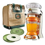 Margaritaville Key West Frozen Concoction Maker with Salt and Lime Tray and Travel Bag