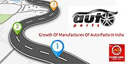 Growth of Manufactures Of Auto Parts In India