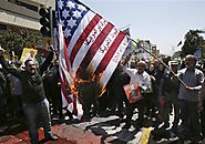 [7/10/15] Iranians Burn US Flag, Chant 'Death to Israel'