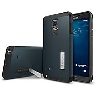 Capa Samsung Galaxy Note 4 Spigen Tough Armor