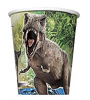 Jurassic World Paper Cups