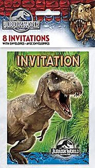 Jurassic World Invitations