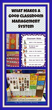 Autism Classroom News: What Makes a Good Classroom Management System