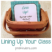 Ideas for Lining Up Your Class - PreKinders