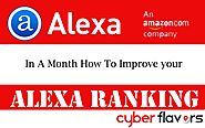 How To Improve Your Alexa Ranking In A Month