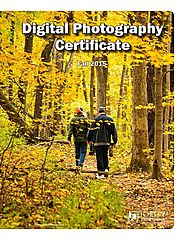 Joliet Junior College Corporate & Community Services uses student photos to promote its digital photography certificate.